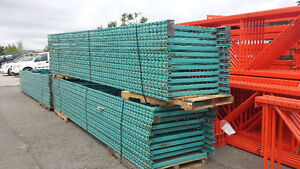 USED REDI-RACK PALLET RACKING, SHELVING & CONTAINERS JUST IN.