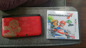 New Nintendo 3DS (Super Mario Bros 2 Edition) + 6 Games