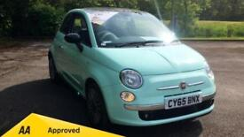 2015 Fiat 500 1.2 Cult with Leather Interior Manual Petrol Hatchback