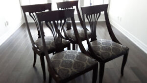 Jane Lockhart Upholstered Dining Chairs – Set of 4