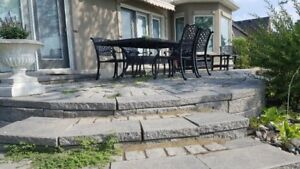 Patio Retaining Wall Used
