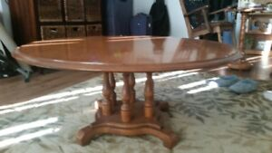 ETHAN ALLEN Colonial Coffee Table Set