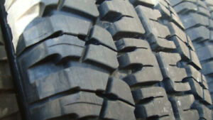 5 michelin 215 85 16 load range 10 ply at2 truck tires 98% tread