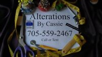 Sewing, Tailor, seamstress services in Peterborough.