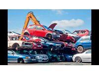 WANTED SCRAP CARS VANS BEST PRICE PAID CASH