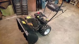 Perfect running snowblower