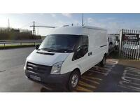 2013 63 Ford Transit 2.2TDCi ( 125PS ) ( EU5 ) 330L Med Roof Van 330 LWB