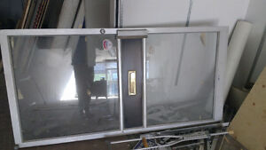 42 inch steel and glass commercial door