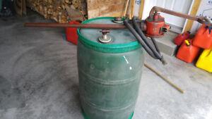 NiBaril vide pour le diesel ou kérosène avec pompe