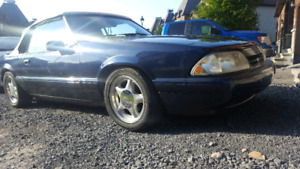 1990 FORD MUSTANG LX 5.0 CONVERTIBLE 5000$