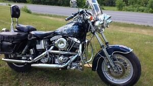 1983 HARLEY DAVIDSON SHOVEL HEAD * BELT DRIVE *LOTS OF CHROME