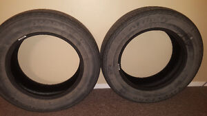 2 Firestone Affinity Tires For Sale (P195/65R15) (All Season)