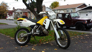 Suzuki RMX 250cc 1993 enduro 2temps