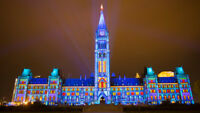 Sound and Light Show in Ottawa + MosaïCulture Gatineau