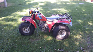 Trois roues ATC 200 1983 - Big Red - 700 $
