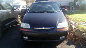 2005 Chevrolet Aveo for sale.