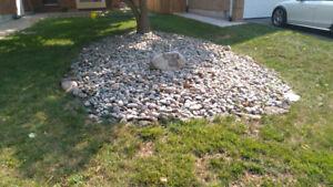River Rock 2-4 inches Stone