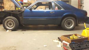 1981 Ford Mustang Hatchback #FoxBody part-out
