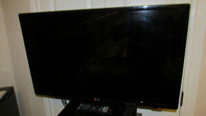 LG 32-inch LED television, practically new!!!