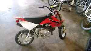 2008 crf50  88cc and original engine