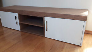 Modern tv stand and table