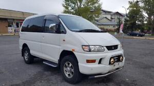 MITSUBISHI DELICA 2002 4WD CHAMONIX  IN A PERFECT CONDITION
