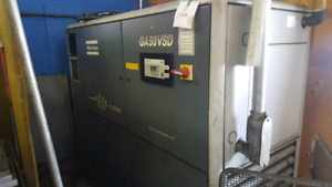 Air compressor parts machine 50 hp motor and blower