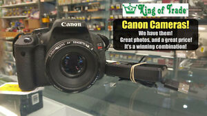 Canon Cameras - King of Trade!