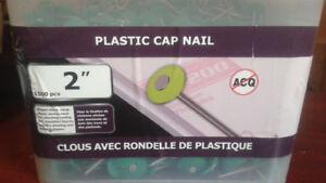 """2"""" Plastic cap nail"""