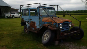 1971 Toyota Land Cruiser SUV, Crossover no title parts truck