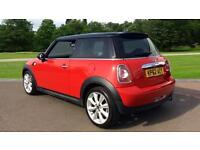 2012 Mini Cooper 1.6 Cooper 3dr Manual Petrol Hatchback