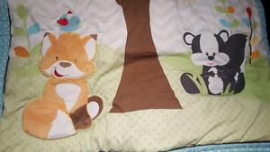 Crib bedding Mobile & bunting bag