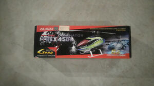 Rc helicopter: align trex 450  L dominator electric helicopter