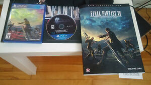 Final Fantasy XV Édition Day one + Guide officiel