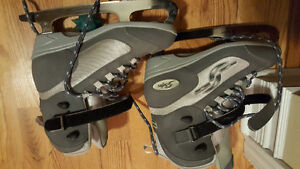 Like new size 7 softec skates