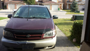 1999 Toyota Sienna AS IS