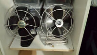 Vintage Fans - they work 20$ each