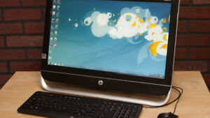 """HP PAVILION 23 """"ALL-IN-ONE"""" PC"""