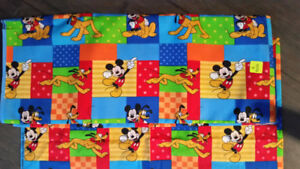 Fabric Mickey Mouse 6 yards NEW