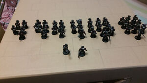Warhammer space marine lot wants any dark or blood  angels