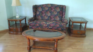 LOVE SEAT IN NEW CONDITION  $75