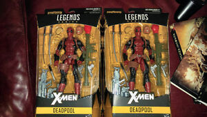 Marvel Legends Deadpool, complete BAFs and MOAR