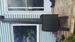 Drolet air tight cast iron wood stove