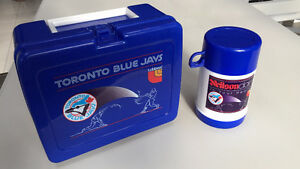 Vintage Blue Jays lunch box and thermos - Priced to move Cambridge Kitchener Area image 1
