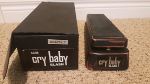 Slash Cry Baby Wah Pedal for Guitar (MINT) [SC95]
