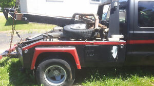 Towtruck body with 2000 Ford F-350