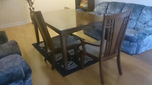 Dining set - large table with chairs - Best Offer Gatineau Ottawa / Gatineau Area image 7