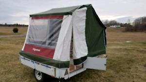 Small and light  Tent Trailer