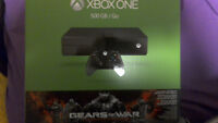 Xbox one console (Gears of war edition)