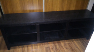 """Tv stand. 70"""" long. Good for a tv up to 85"""""""